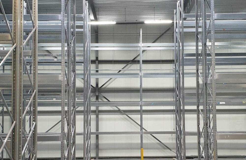 Fase 1 klaar - Nieuwe en gebruikte stellingen voor Thermo Air en Danpak