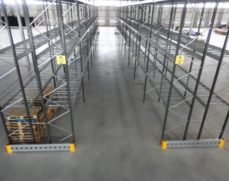 Aanrijdbeveiliging ICE Robotics - Gaasroosters op alle niveaus