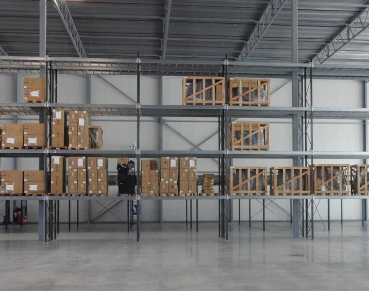 Palletstellingen ICE Robotics voor verschillende palletmaten