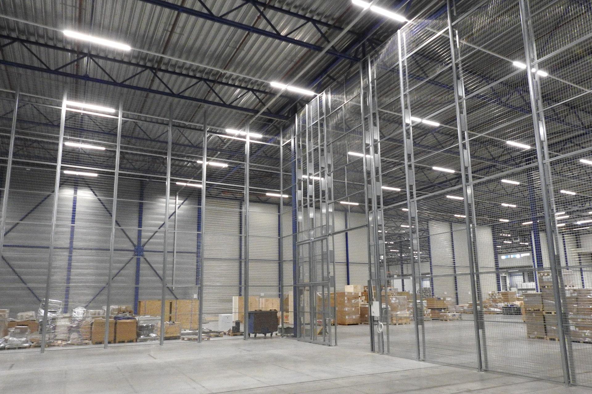 Beveiligde compartimentering voor waardeopslag in warehouse